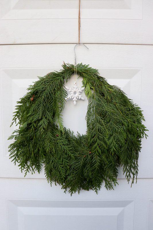 evergreen wreath
