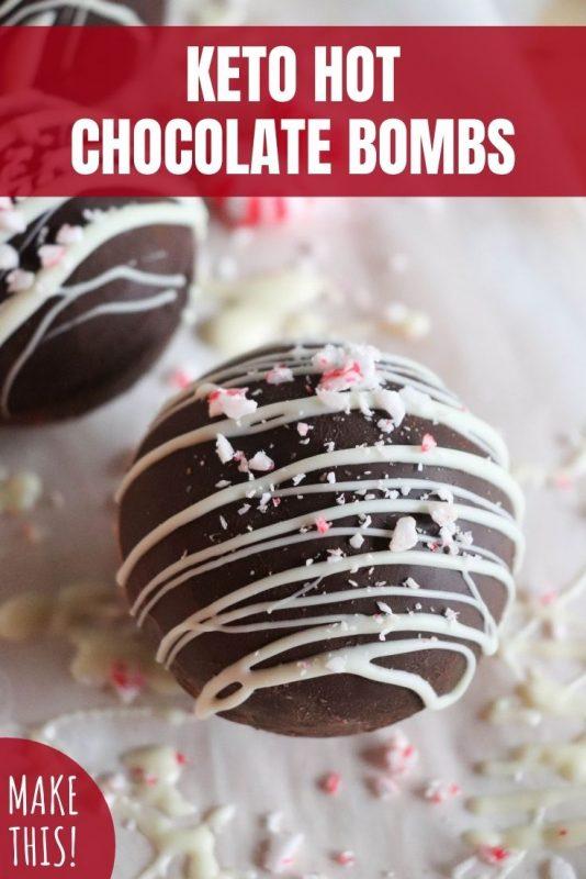 keto hot chocolate bombs