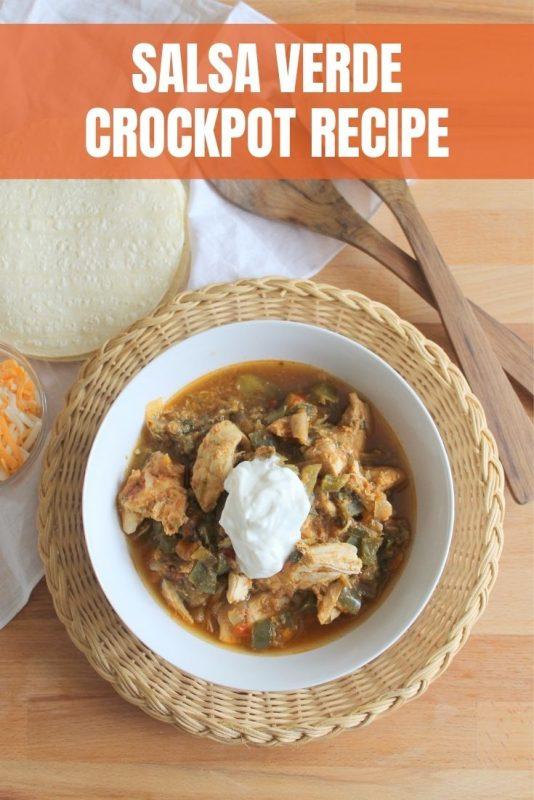 salsa verde crockpot recipe
