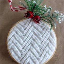 sweater ornament craft