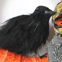 DIY Black Bird Tutorial
