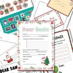 Free Letters to Santa Printables